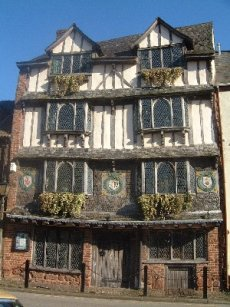 A Tudor House in Exeter