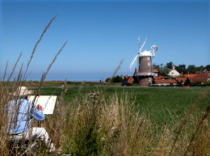 Windmill, Cley Next The Sea