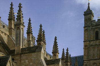 Exeter Cathedral roof - detail