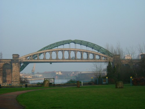 The Wear Bridge and Railway Bridge